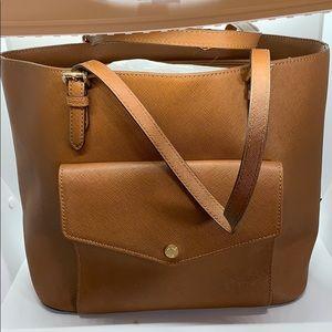 Michael Kors brown tote purse.